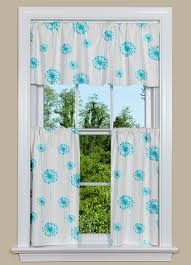 Curtains With Turquoise Kitchen Curtain Panels