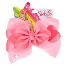 jojo siwa large pink signature hair bow hair bow