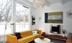 Modern Yellow Sofa How To Design With And Around A Yellow Living Room Sofa