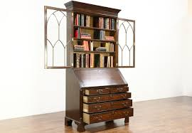 Swedish Secretary Desk by Sold Oak English Vintage Secretary Desk U0026 Bookcase Secret
