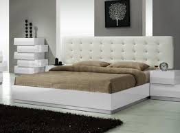 White Leather Bedroom Furniture White Faux Leather Bedroom Set White Bedroom Design