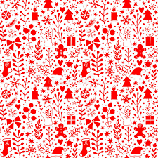merry seamless pattern happy new year background
