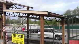 Gambrel Pole Barn by Steel Trusses And Pole Barn Kits
