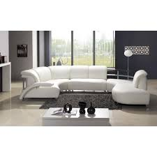 White Sectional Sofa Best 25 White Leather Sectionals Ideas On Pinterest Leather