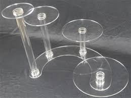 4 tier cake stand buy 4 tier cascade cake stand 5mm acrylic wedding display