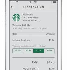 starbucks app android digital tipping and shake to pay are new with starbucks enhanced