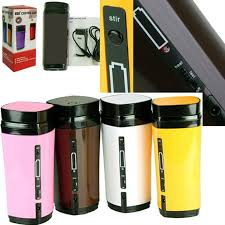 heated coffee mug new rechargeable usb electric heating automatic stirring insulated
