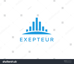 abstract city logo design template premium stock illustration