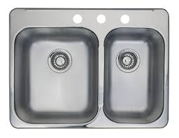 kitchen double sink kitchen bar sinks the home depot canada