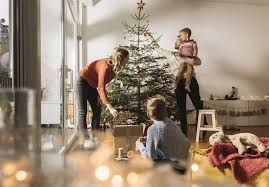 decorate christmas tree learn how to put away christmas decorations