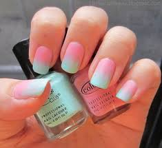 60 ombre nail art designs ombre nail art baby blue and ombre