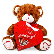 teddy valentines day day chocolate heart
