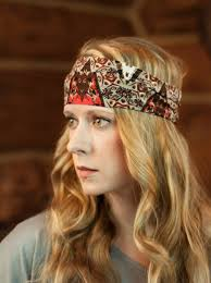 boho headband wide boho headband stretchy printed headwrap band fabric