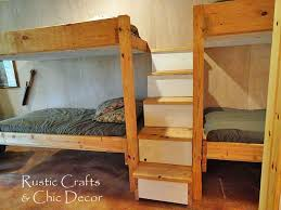 Plans For Building Log Bunk B by Best 25 Double Bunk Ideas On Pinterest Double Bunk Beds Built