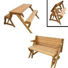 Free Plans For Wood Picnic Table by Bench Turns Into Picnic Table Plans U2013 Amarillobrewing Co