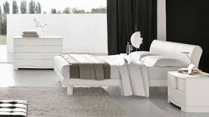 Modern White And Black Bedroom White Bedroom Furniture The Special Simple Amaza Design