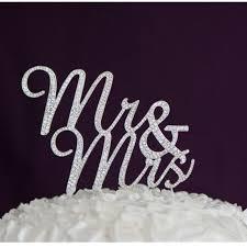 mrs mrs cake topper newest glitter wedding mariage decoration cake topper alloy frame