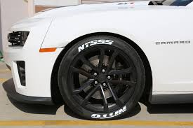 zl1 camaro tires nitto nt555 tire lettering tire stickers