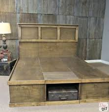 Learn To Build Cabinets Platform Bed With Storage Tutorial Platform Beds Storage And