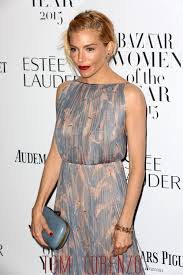 in or out sienna miller in valentino at the 2015 harper u0027s bazaar