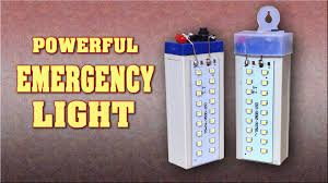 how to make a powerful rechargeable led emergency light at home
