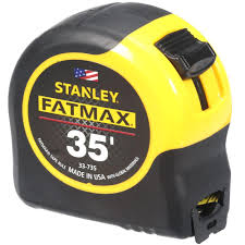 stanley fatmax 35 ft tape measure 33 735 the home depot