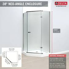 38 Neo Angle Shower Door Neo Angle Shower Available Only At Home Depot Neo Angle Shower