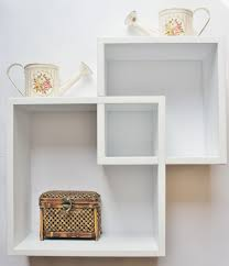 small white wall shelf officeworkout room on shelves office