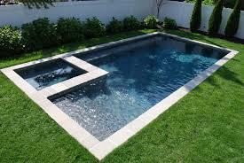 geometric pool designs swim mor pools and spas