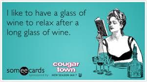 Cougar Town Memes - wine drink courteney cox cougar town tbs funny ecard cougar town ecard