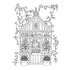 whimsical gardens colouring book