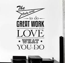 stickers bureau diy inspirational quotes stickers muraux bureau mur décor