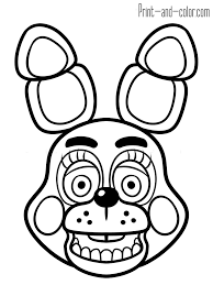 fnaf mangle coloring pages five nights at freddy s coloring pages print and color