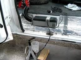 webasto air top 2000 diesel heater running in hal the van youtube