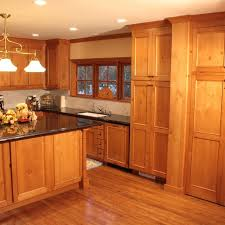 hand made knotty pine kitchen and entertainment center by cabinet
