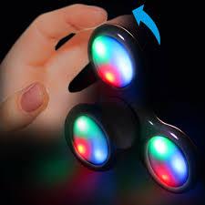 a light up fidget spinner light up black fidget spinner new products