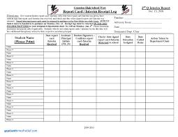 homeschool middle school report card template homeschool middle school report card template new homeschool