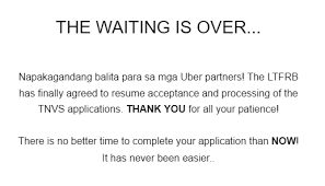 What Does Accreditation Mean On A Resume Ltfrb Allows Uber To Resume Tnvs Accreditation Uber Mnl Tips
