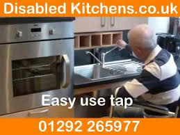 Handicap Accessible Kitchen Cabinets by Handicapped Kitchens And Handicap Kitchen Design Youtube