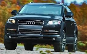 Audi Q7 Off Road - 2010 audi q7 information and photos zombiedrive