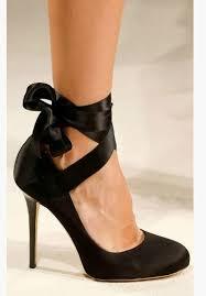 ribbon heels velvet ribbon ankle wrap bow heels diy maegan