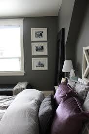 chambre grise et violette 8 idées peinture pour une chambre d adulte avec du violet