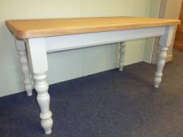painted farmhouse tables choose your size kitchen and dining