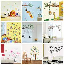 Tree Wall Decals Nursery by 50x70cm Kids Wall Stickers Decals Cartoon Flower Tree Wall Decal