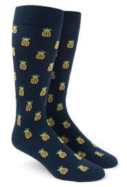 pineapple s socks navy ties bow ties and pocket squares