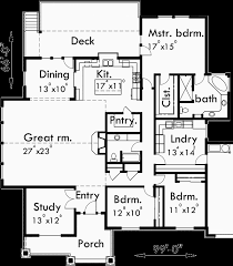 Large Ranch Floor Plans Ranch House Plan Featuring Gable Roofs