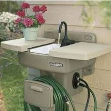 backyard gear outdoor sink amazon com d f omer ws100 backyard gear water station plus home