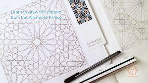 pattern of analysis analysis of a geometric pattern alhambra palace ambigraph