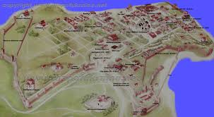 Kiev Map Map Of Chersonesos Taurica Crimea