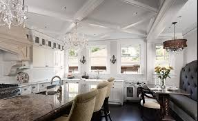 ceiling beautiful coffered ceiling with luxury chandelier with